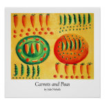 Carrots and Peas Print