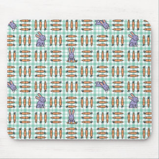 Carrots and Rabbits Mouse Pad