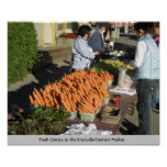 Carrots at The Brockville Farmers' Market Posters