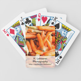 Carrots Bicycle Playing Cards
