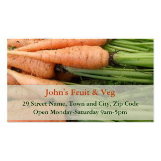 Carrots Business Card