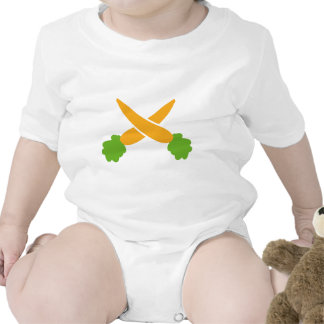 Carrots crossed t shirts