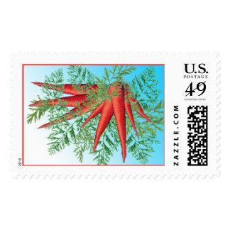 Carrots custom postage (Lrg)