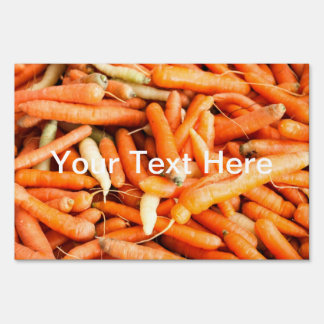 Carrots Lawn Sign