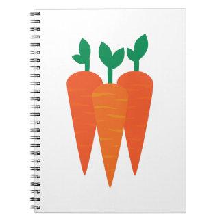 Carrots Notebook