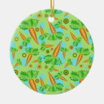 Carrots Pattern Ornament