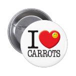 Carrots Pinback Button