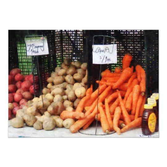 Carrots, Potatoes and Honey Card