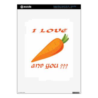Carrots iPad 3 Decal