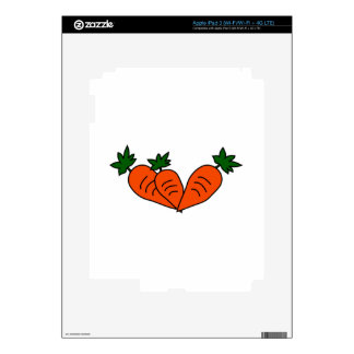 Carrots Decal For iPad 3