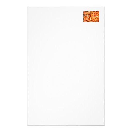 Carrots Stationery Paper