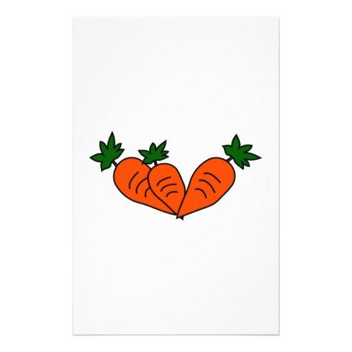 Carrots Customized Stationery