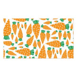Carrots Vegan Veggie Lover Food.png Business Card