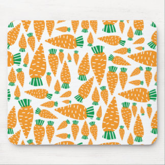 Carrots Vegan Veggie Lover Food.png Mouse Pad
