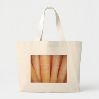 Carrots (Vertical) Large Tote Bag