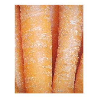 Carrots (Vertical) Letterhead