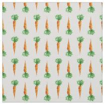 Carrots watercolor modern pattern fabric