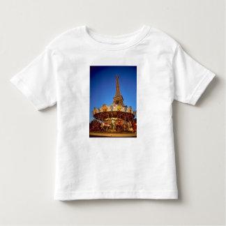Carrousel, Eiffel Tower, Paris, France Tee Shirt