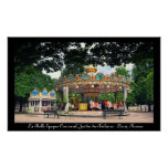Carrousel in the Tuileries, Paris, France Poster