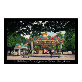 Carrousel in the Tuileries Paris France Posters