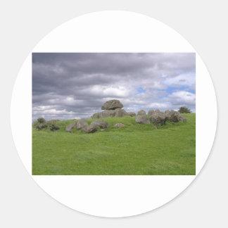 Carrowmore Classic Round Sticker