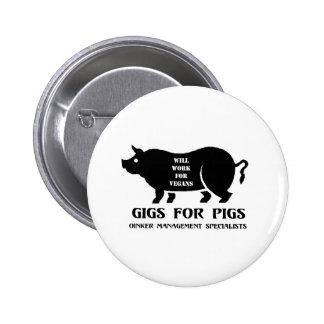 Carruajes para los cerdos pin