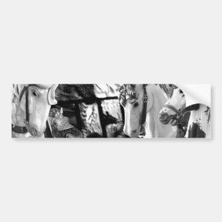 carrusel pegatina de parachoque