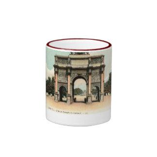 Carrusel de L'Arc de Triomphe du, París, Francia Taza A Dos Colores