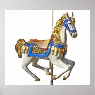 Carrusel del caballo impresiones