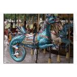Carrusel del dragón del mar felicitación