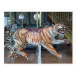 Carrusel del tigre tarjetas postales