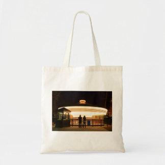 Carrusel en el bolso de la noche bolsa tela barata