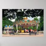 Carrusel en el Tuileries, París, Francia Posters