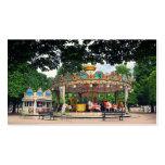 Carrusel en el Tuileries, París, Francia Tarjetas De Negocios