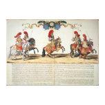 Carrusel por el frente de Louis XIV de Tuileries Impresión En Lienzo