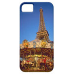 Carrusel, torre Eiffel, París, Francia iPhone 5 Fundas