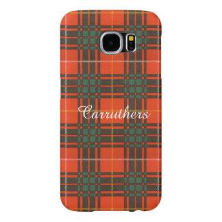 Carruthers clan Plaid Scottish kilt tartan Samsung Galaxy S6 Case