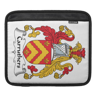 Carruthers Family Crest Sleeve For iPads