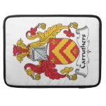 Carruthers Family Crest Sleeve For MacBooks