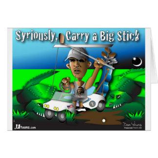 Carry a Big Stick Card
