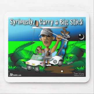 Carry a Big Stick Mouse Pad