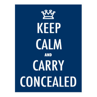 Carry Concealed Postcard
