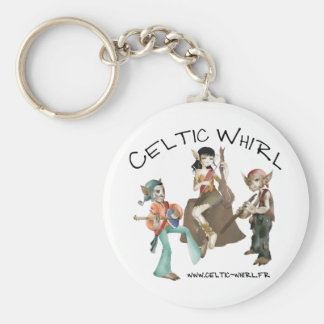 Carry key Celtic Whirl Keychain