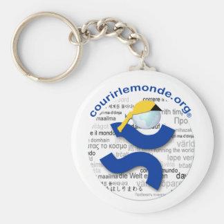 Carry-key CLM Basic Round Button Keychain