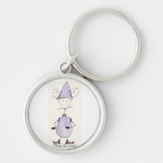Carry key Grelotte mouse Keychain