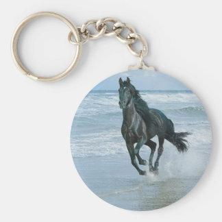Carry key horse keychain