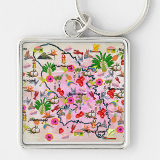 Carry-key Martinique Keychain