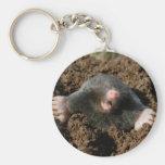 Carry-key Mole Key Chain
