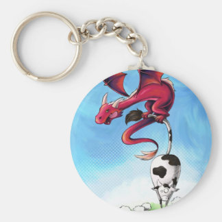 Carry-key Scorfel robber of cow Keychain