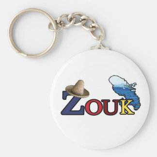 Carry-key ZOUK of Martinique Keychain